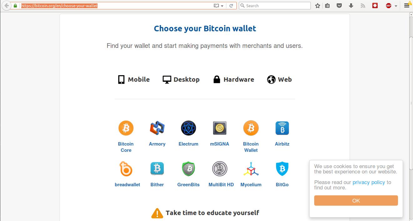 bitcoin org en choose your wallet